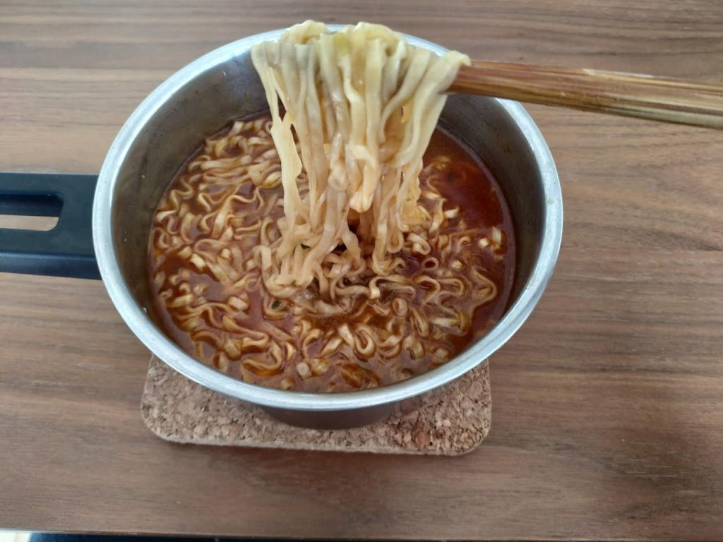 満漢大餐麺がうまい