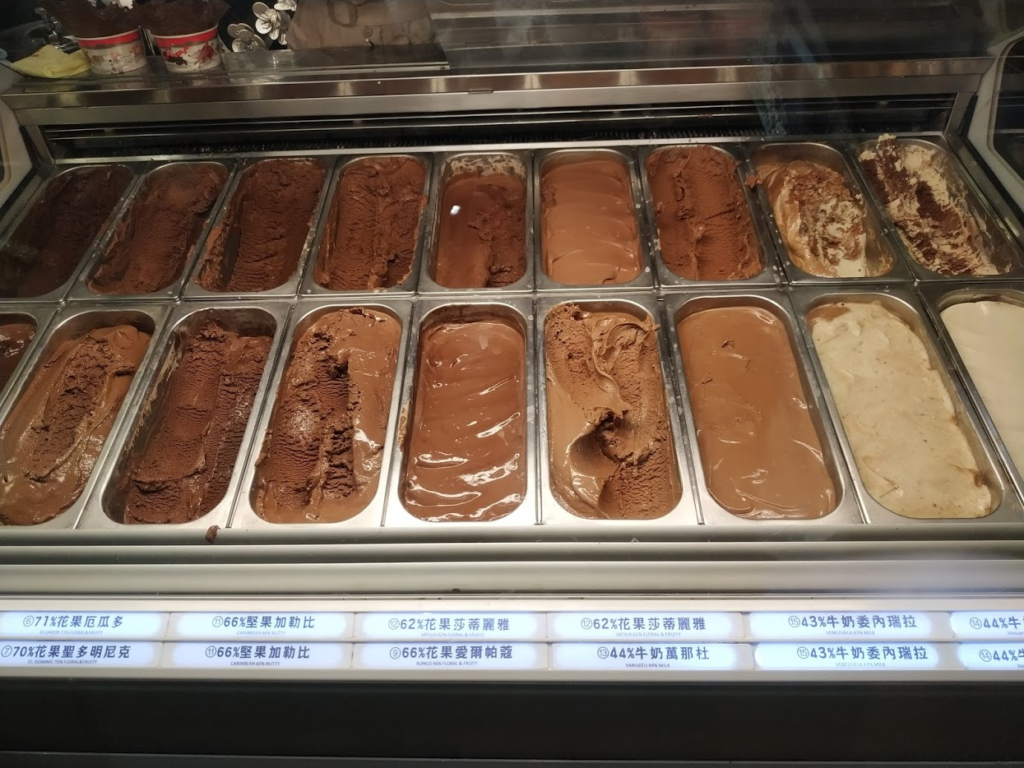 宮原眼科アイスクリーム