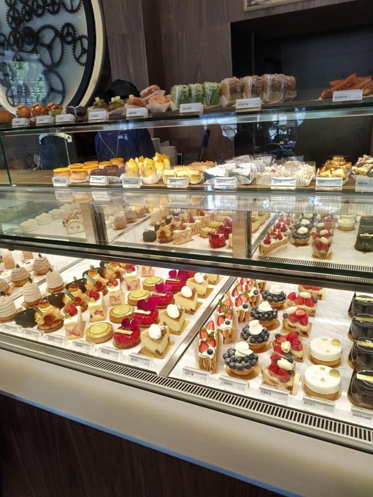 卡啡那文化探索館ケーキの種類