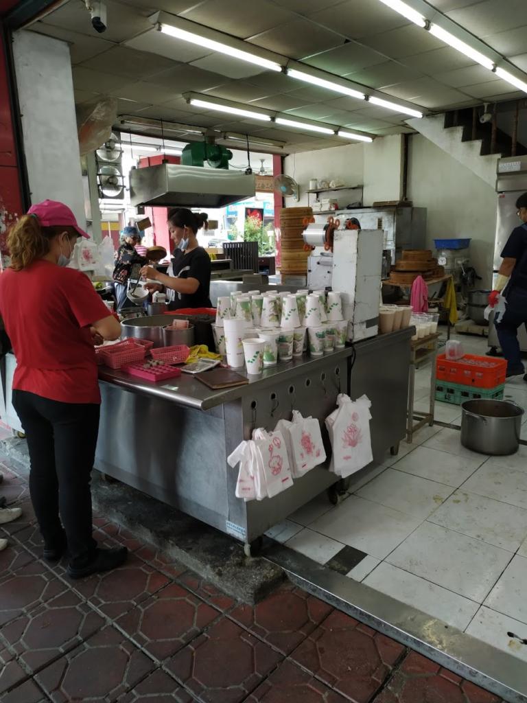 4日目終了の画像朝食店
