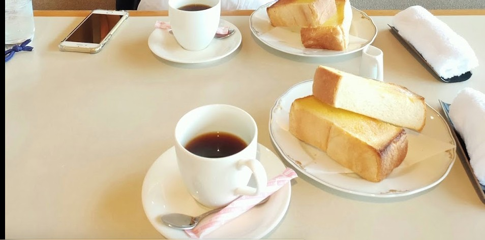 華水亭の朝食