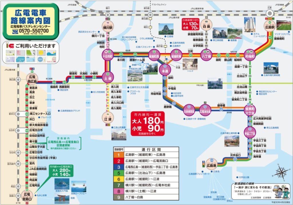 路面電車駅マップ