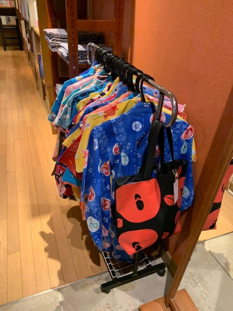湯村温泉寿荘の子ども向け浴衣