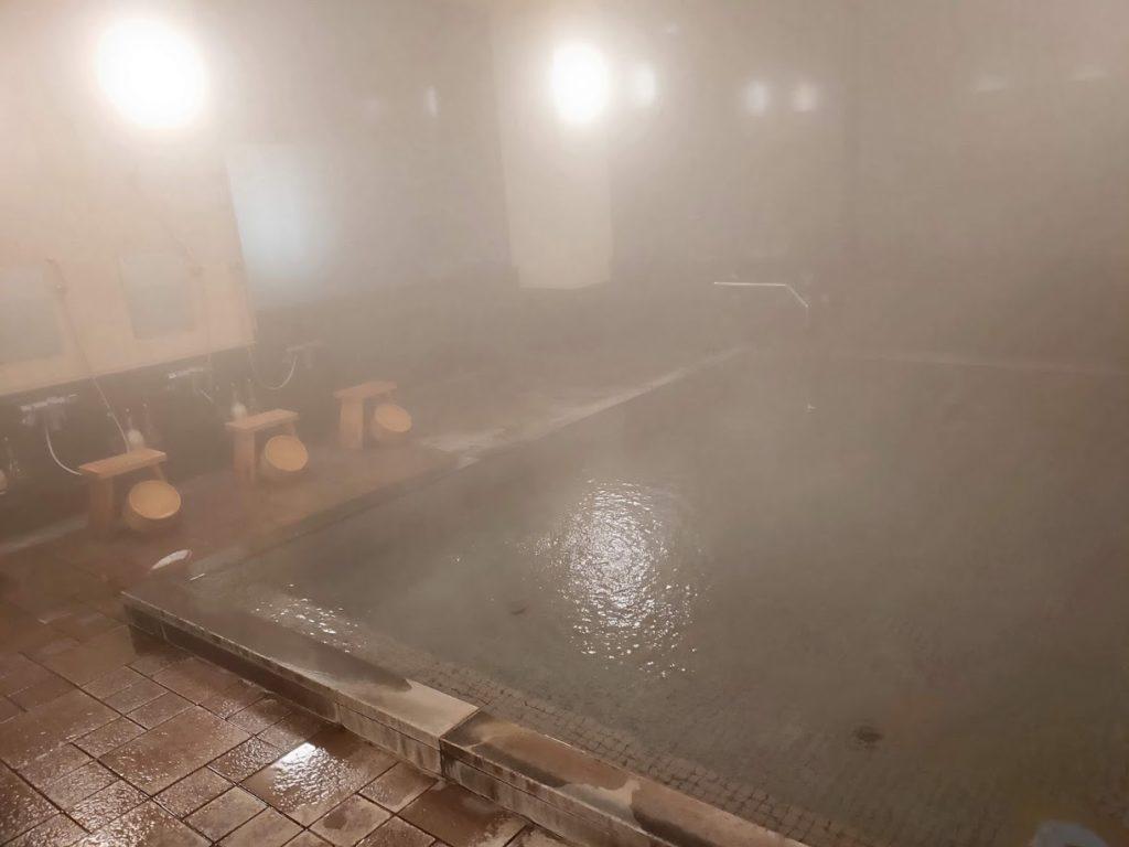 湯村温泉寿荘のお風呂