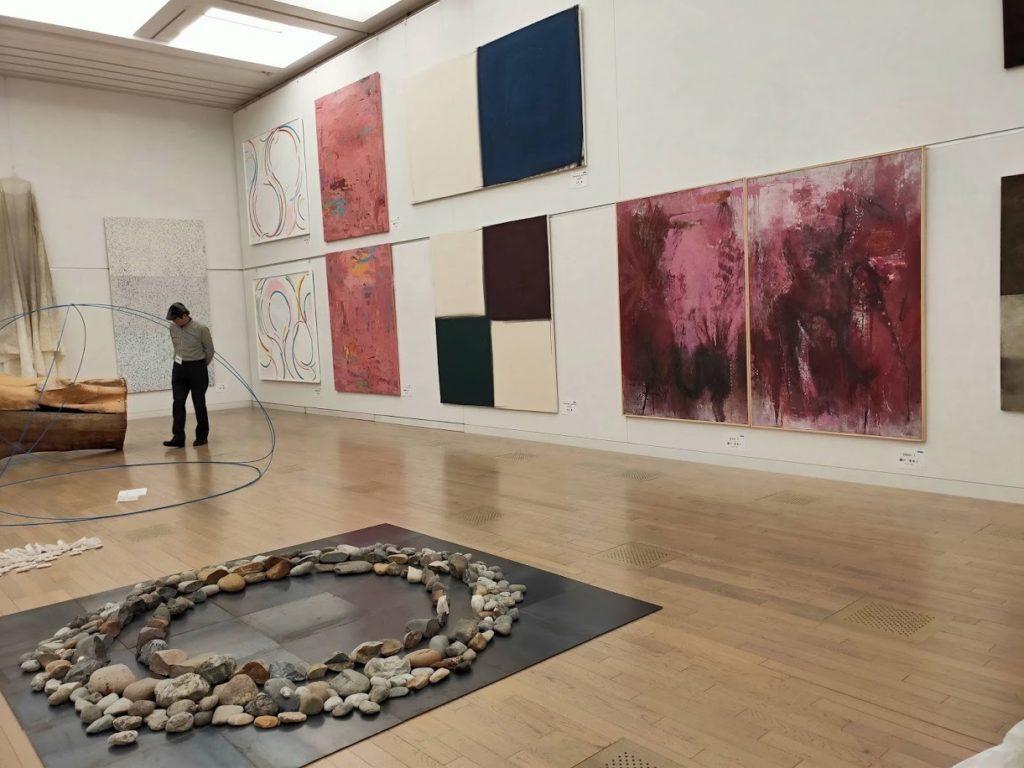 国立新美術館アートの展示