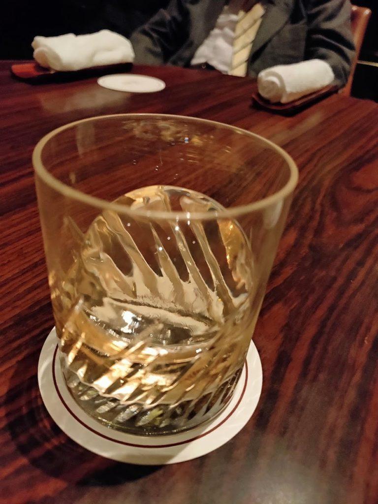 グランドプリンスホテル新高輪メインバーあさまのウイスキー