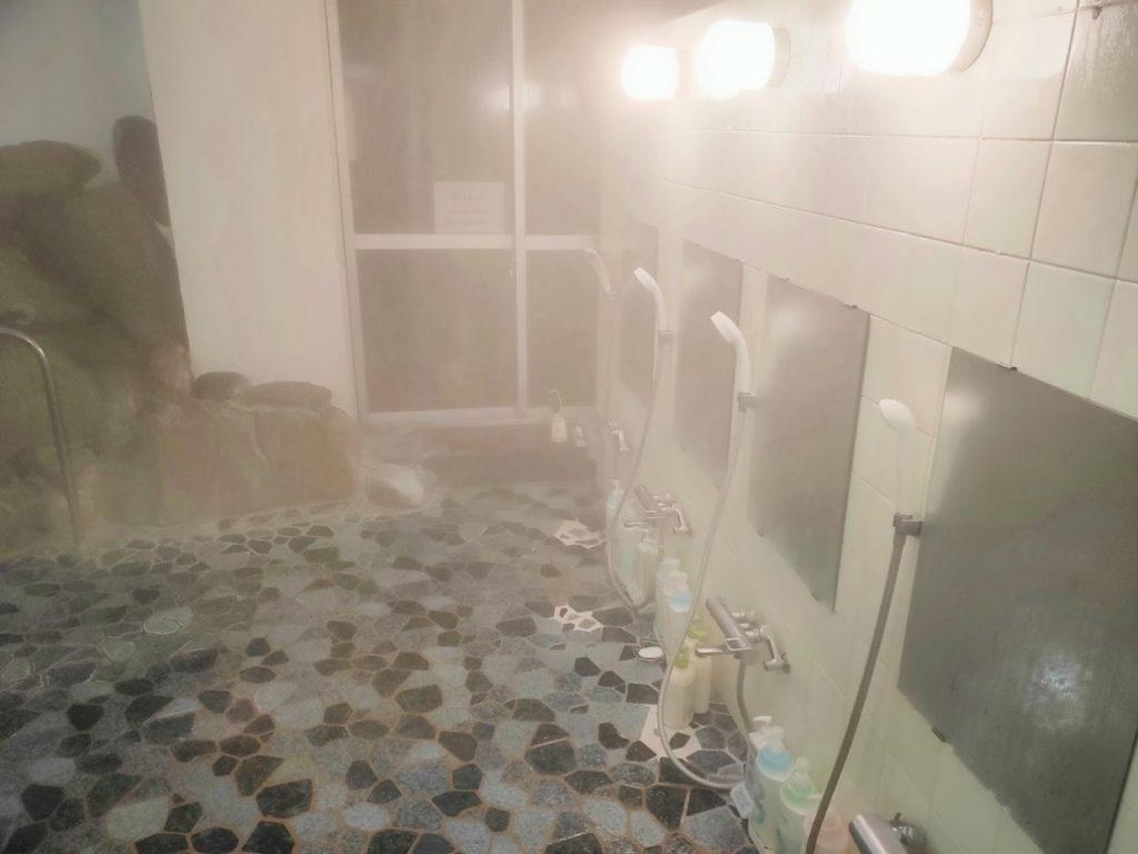 湯快感花やしきの内風呂シャワー
