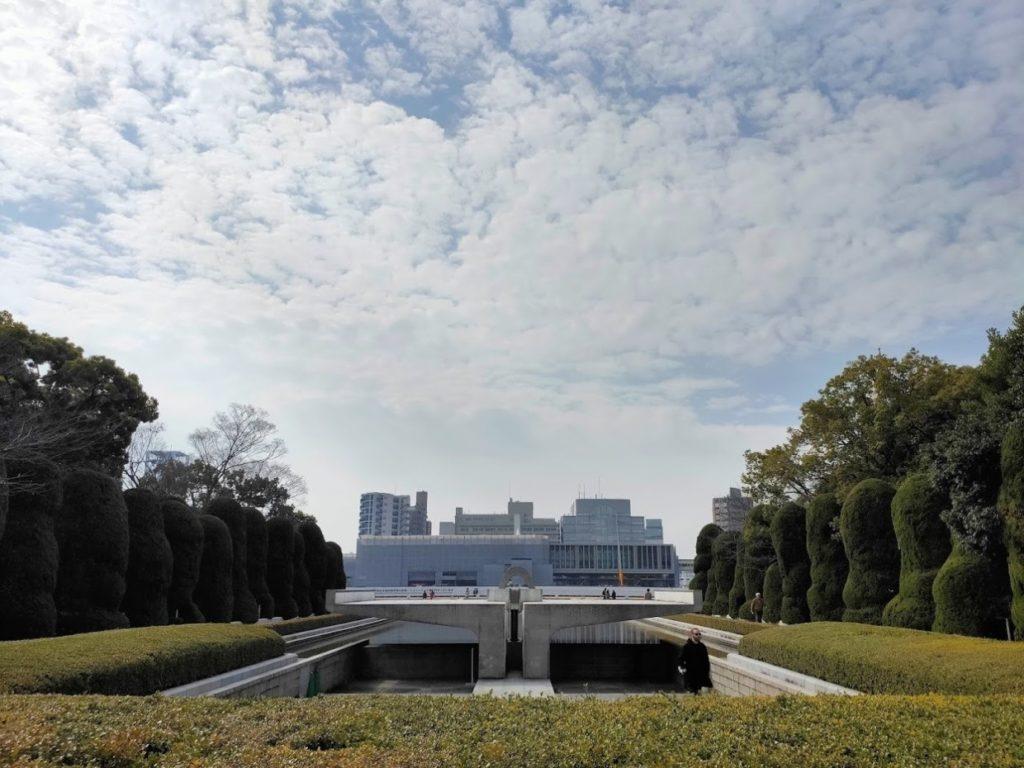 広島平和記念碑と資料館