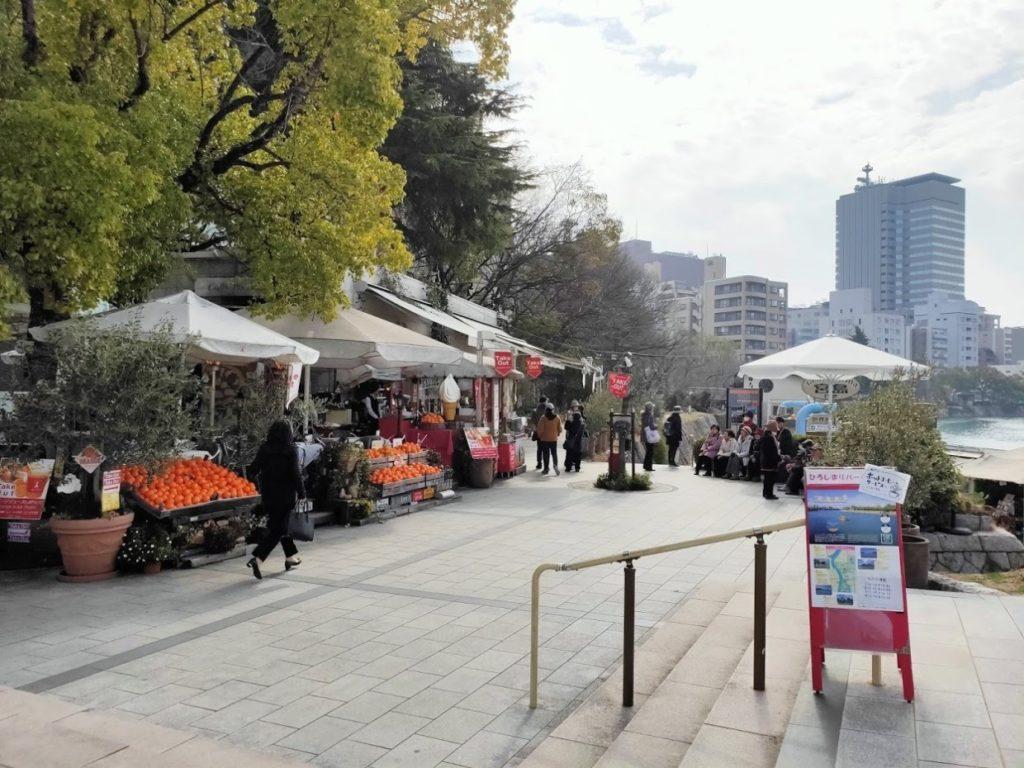 広島カフェ・ポンテの周辺景色