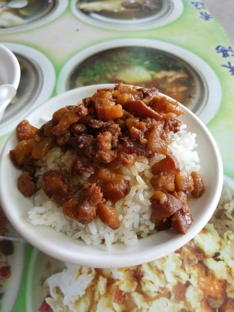 大圓環雞肉飯の魯肉飯