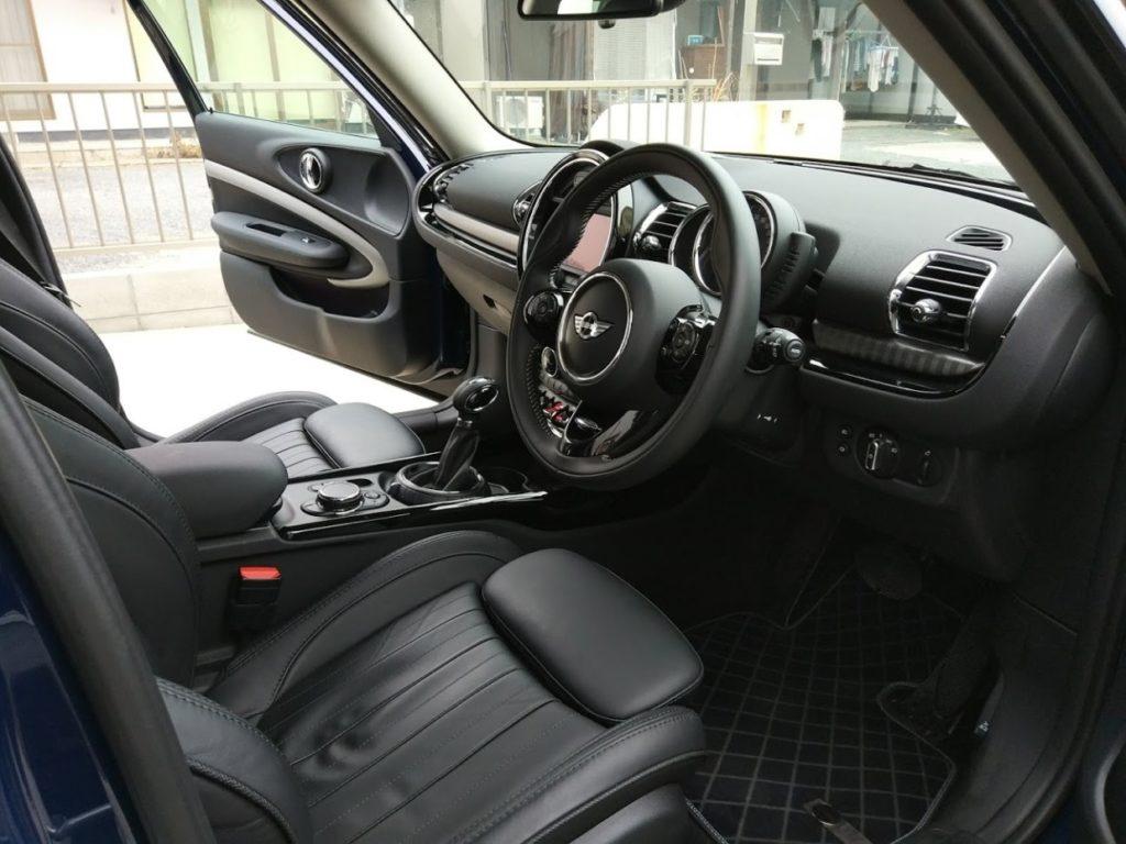 ミニクラブマンクーパーSD運転席シート