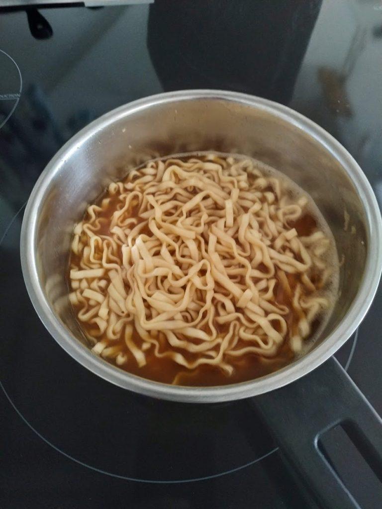 阿舎意麺失敗した調理方法