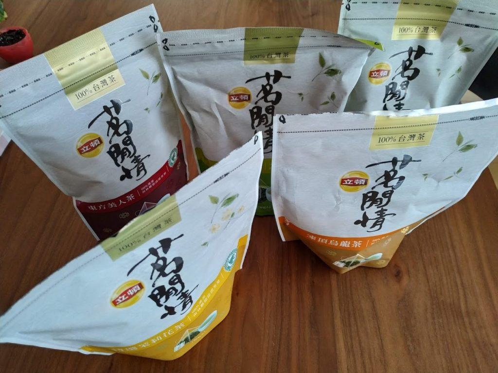 台湾茶リプトン5種類