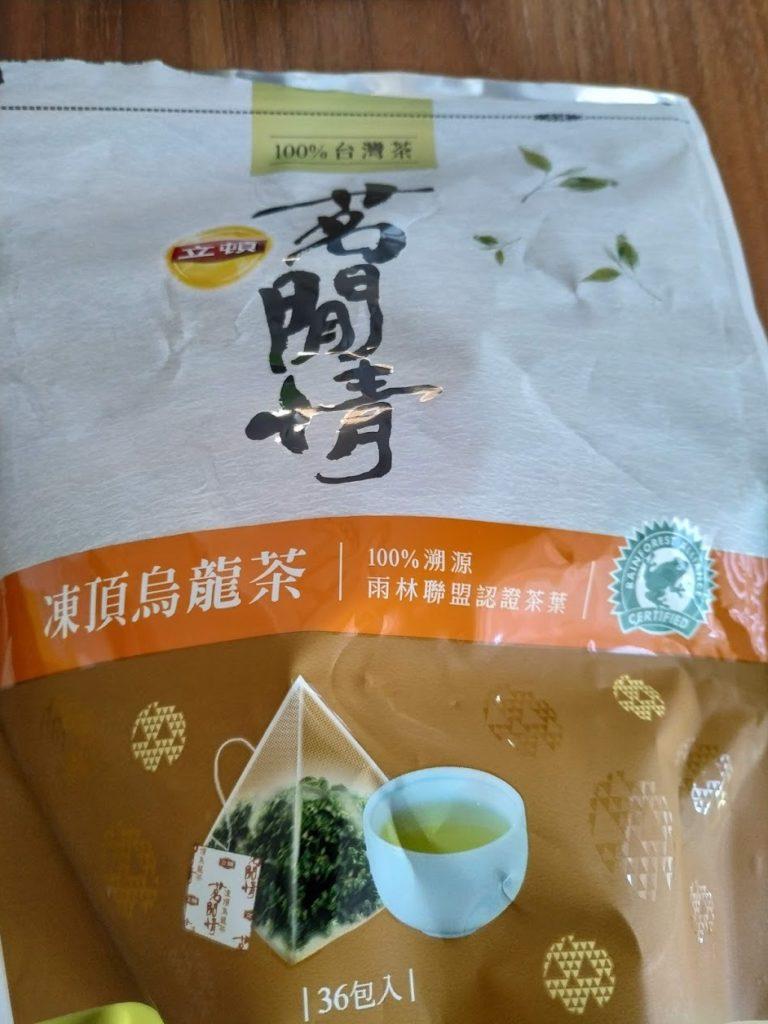 台湾茶リプトン茗間情凍頂烏龍茶