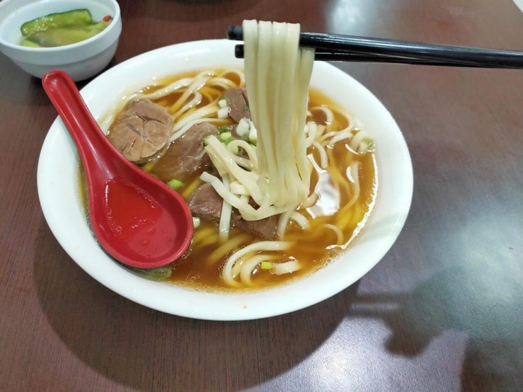 港園牛肉麵の牛肉麺