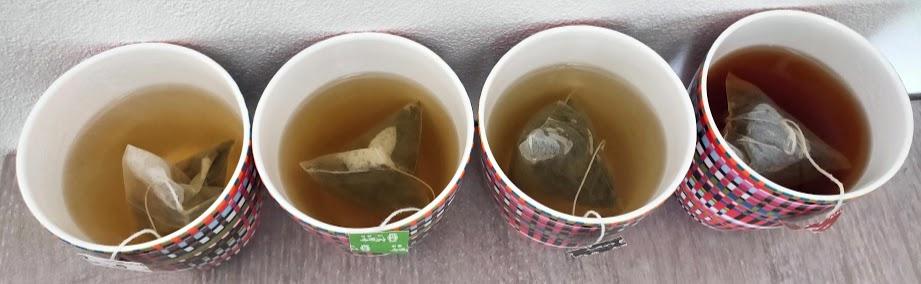 リプトン台湾茶4つ飲む直前