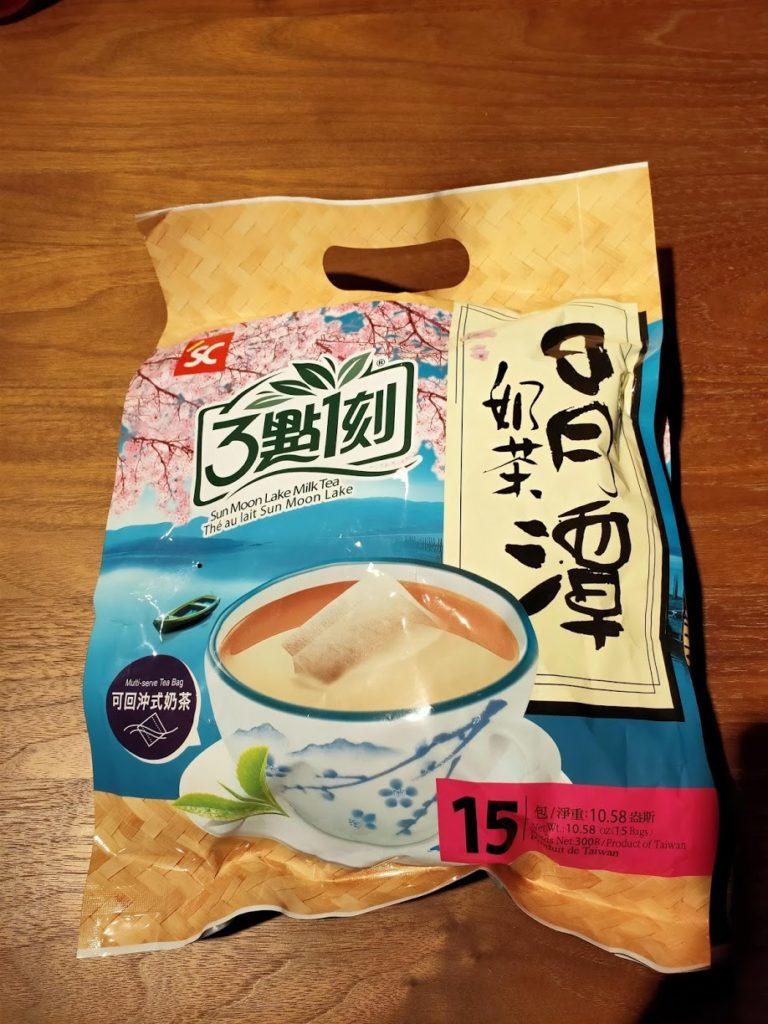 3點1刻紅茶15袋入りパッケージ
