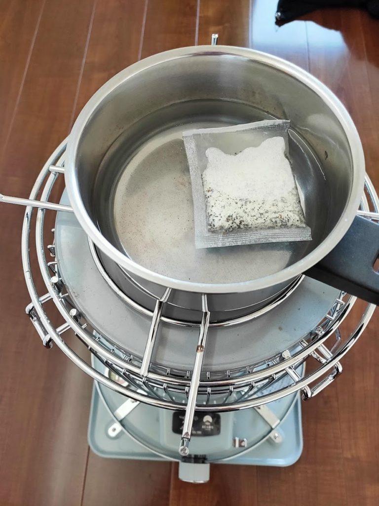 3點1刻紅茶ストーブで作る
