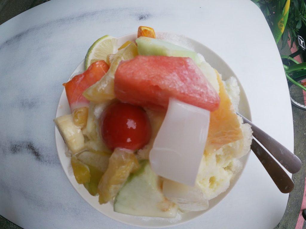 莉莉水果店のフルーツかき氷3