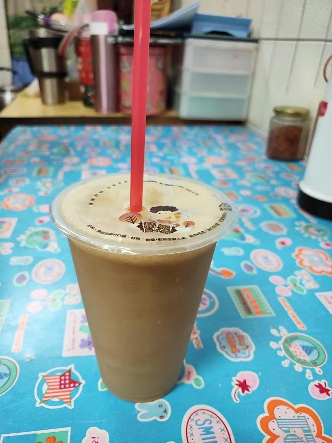 王媽媽早餐店の珈琲牛乳