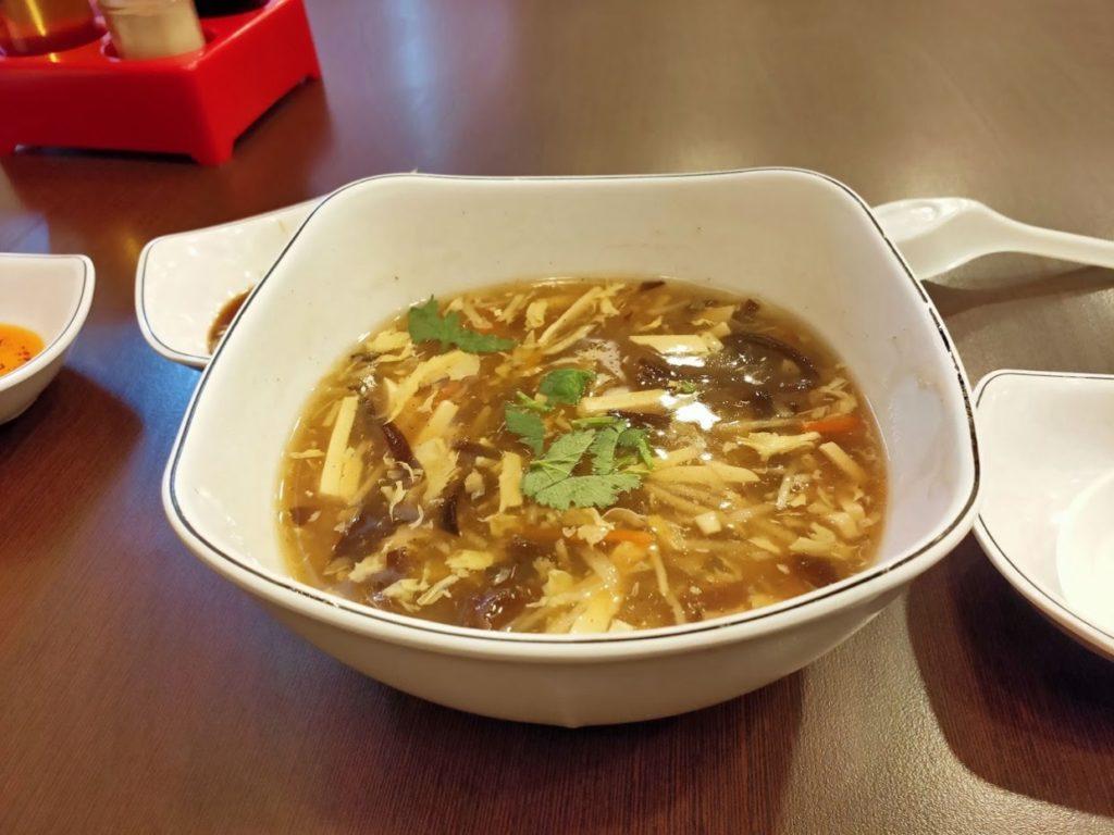 北平楊寶寶蒸餃の酸辣湯