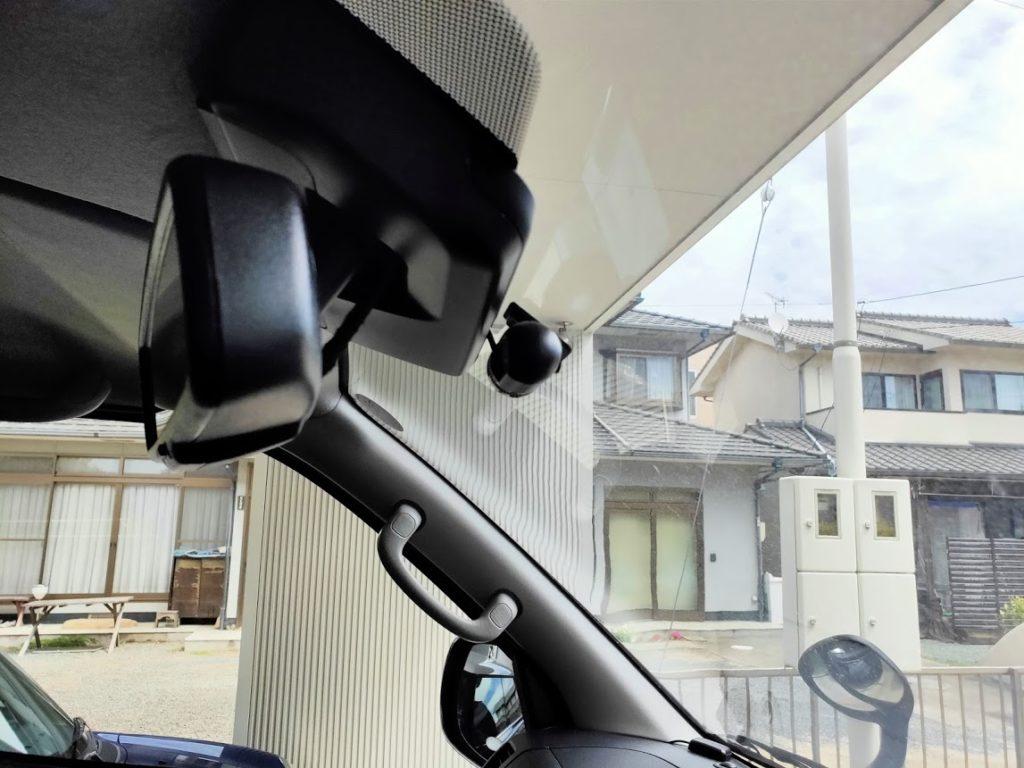 アンドロイドナビのドライブレコーダーカメラ