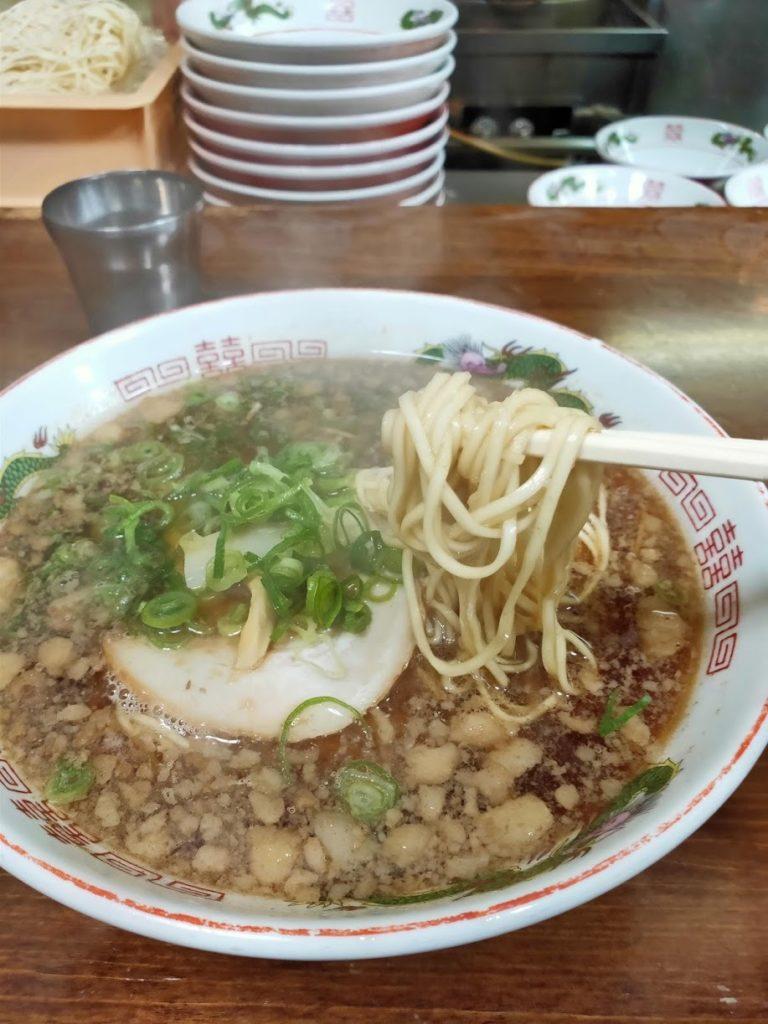 尾道ラーメン一丁の麺