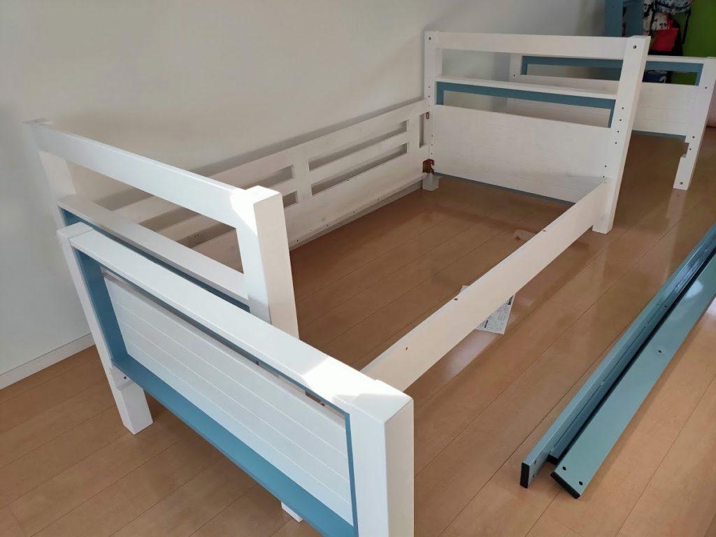 2段ベッド組み立て1