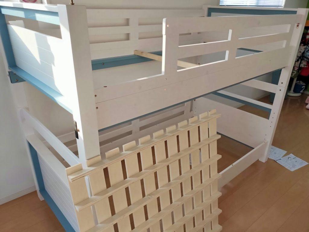 2段ベッド組み立て5