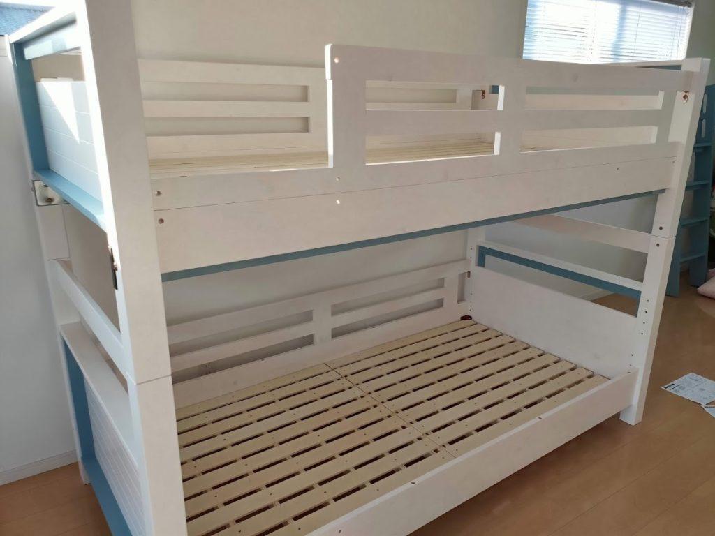 2段ベッド組み立て6