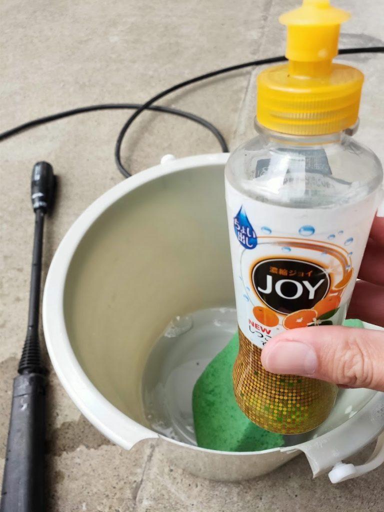 ミニクーパーS洗車食器用洗剤