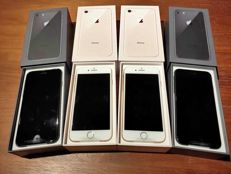 iphone8を4台契約