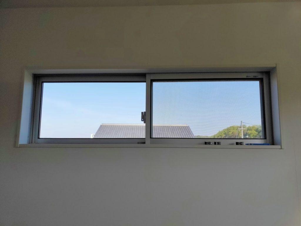 オーダーブラインド付ける前の窓