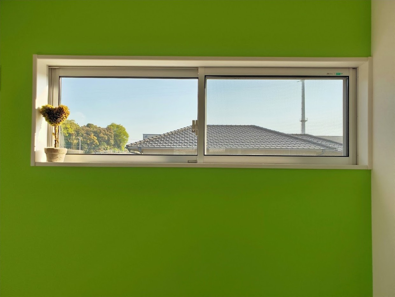 オーダーブラインド何もない窓