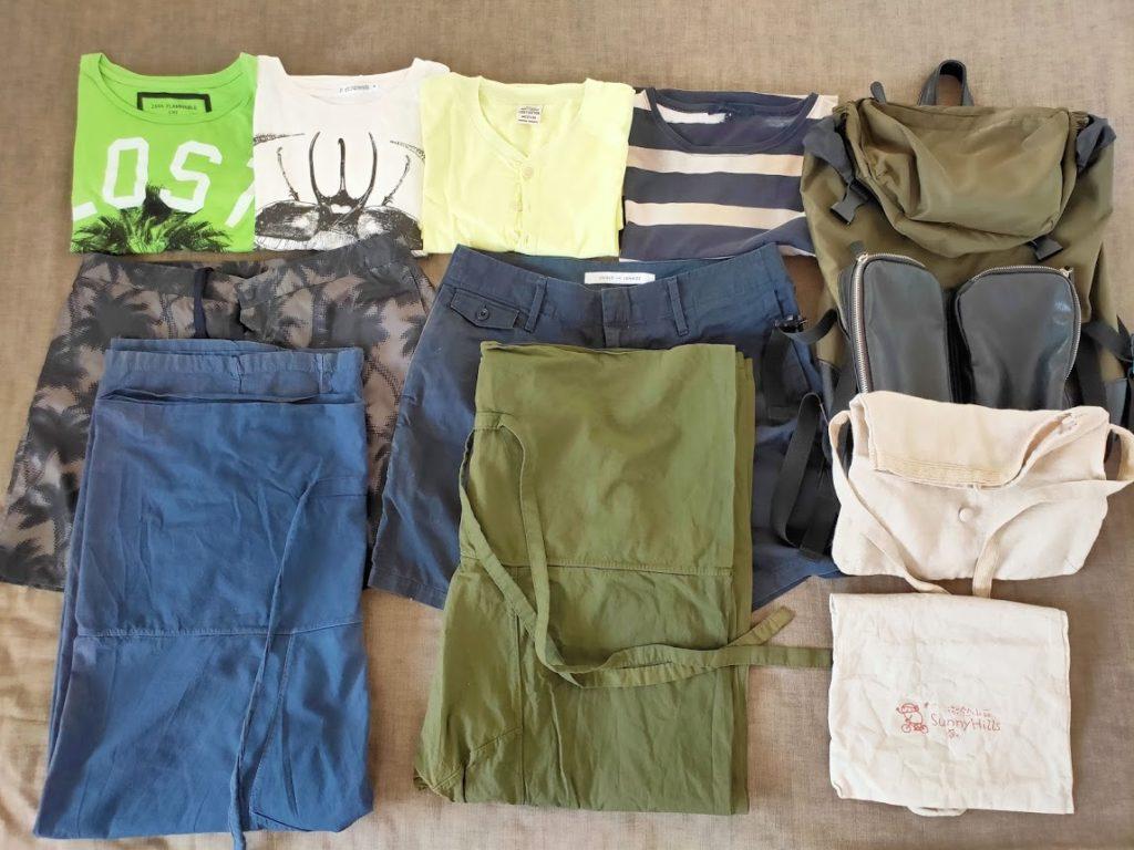 スリランカ旅行用の服