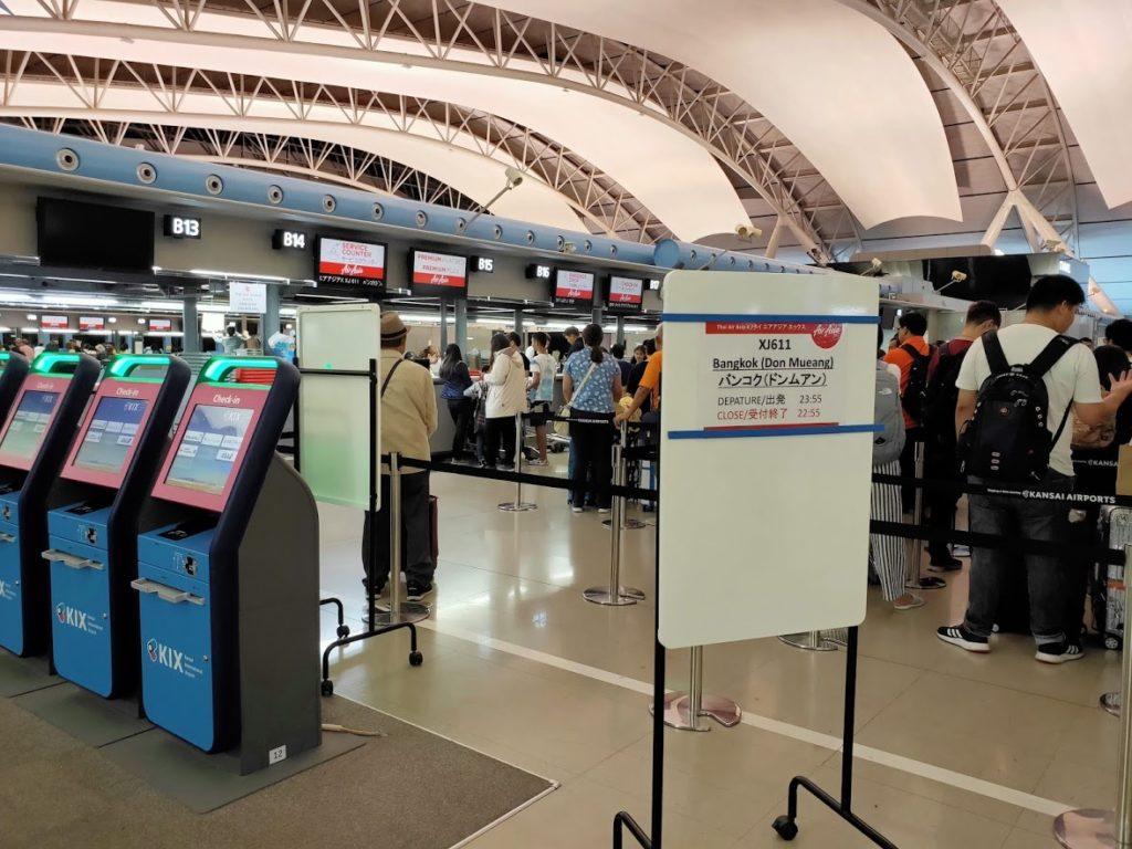 関空エアアジアチェックインカウンター2
