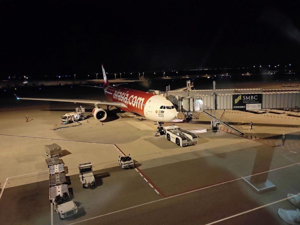 エアアジア飛行機