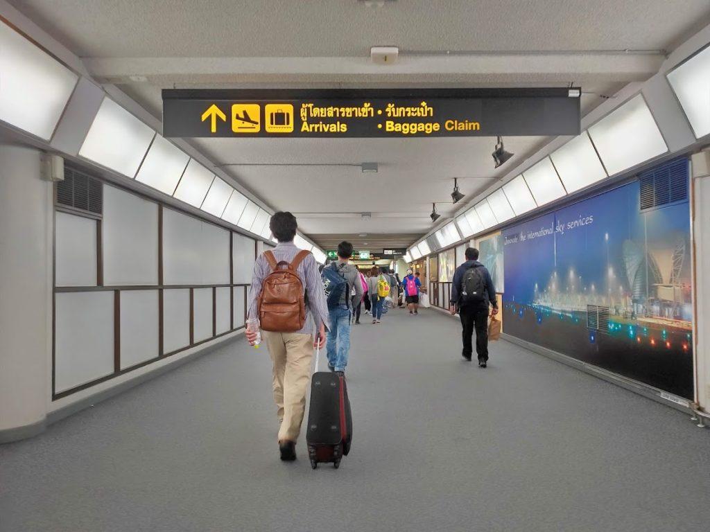 ドンムアン空港到着案内