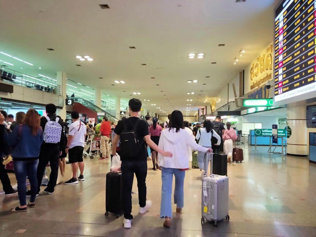 ドンムアン空港ロビー