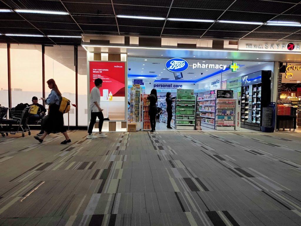 ドンムアン空港の免税ドラッグストア