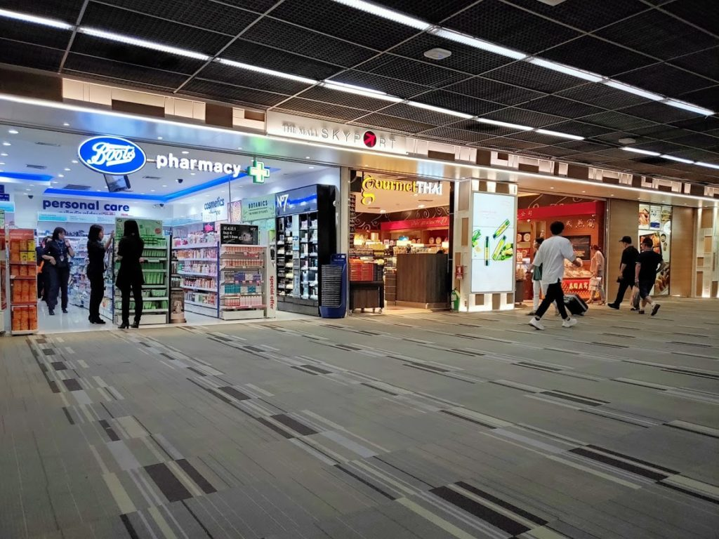 ドンムアン空港の免税ドラッグストア2