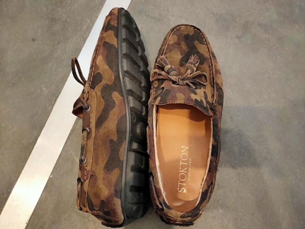 スリランカ旅行の靴