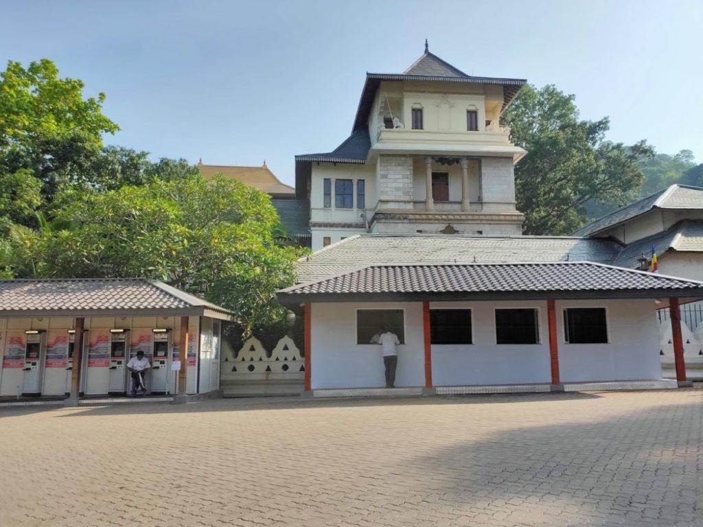 佛歯寺のチケットセンター