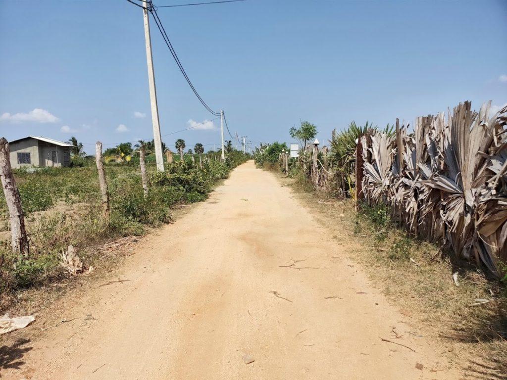 ニラヴェリの道路