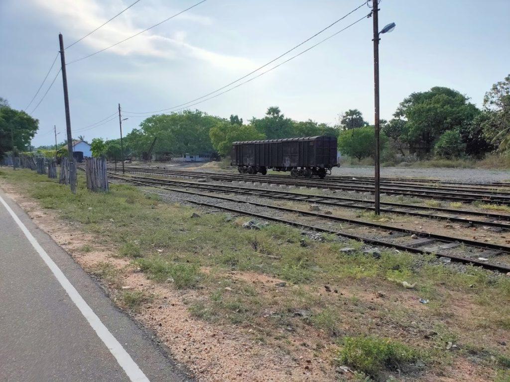 トリンコマリーの鉄道