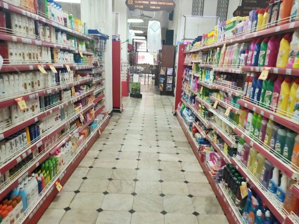 コロンボのスーパーマーケット