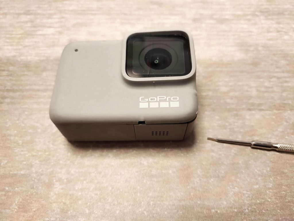 GOPRO HERO7Whiteの修理工具