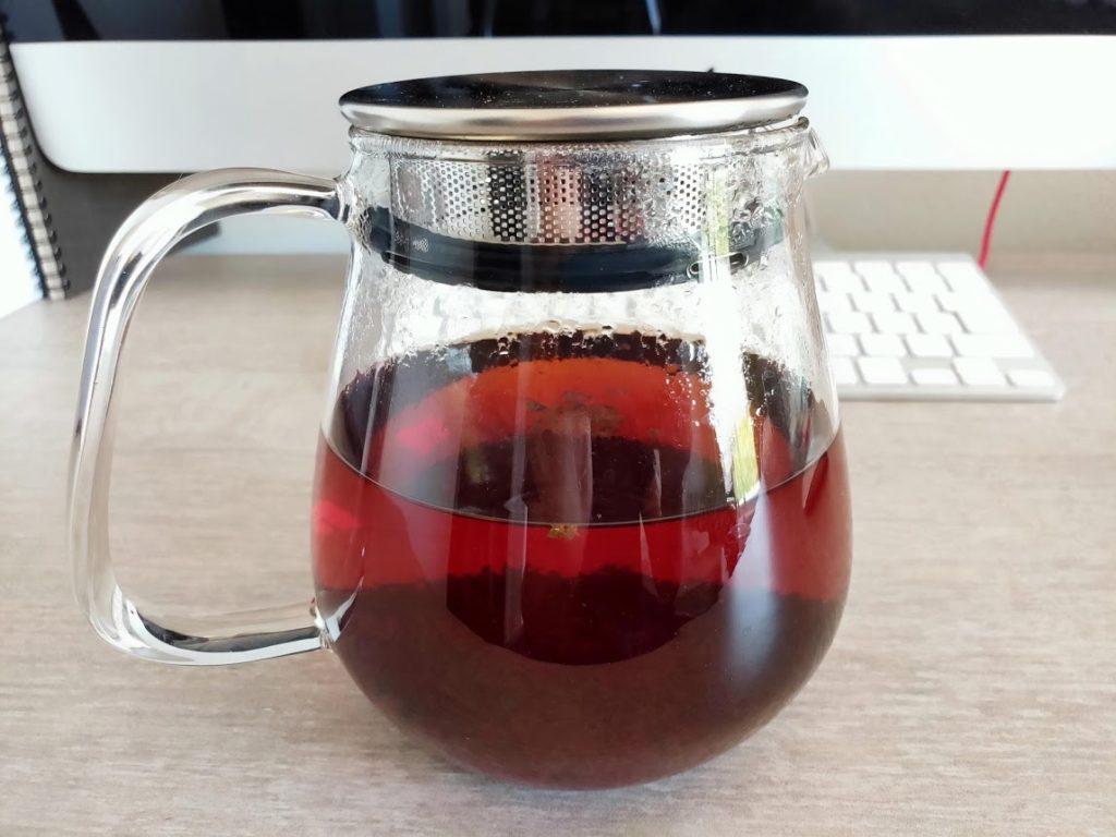 KINTOのUNITEAでスリランカ紅茶抽出