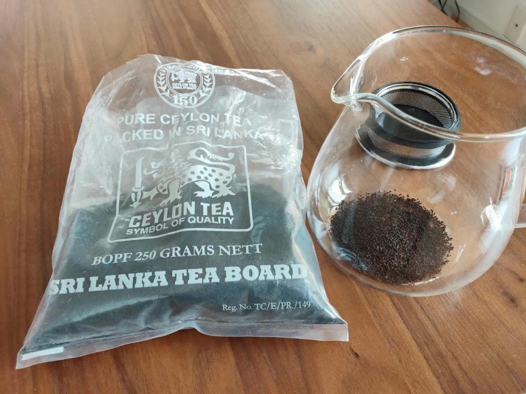 KINTOのUNITEAとスリランカ紅茶
