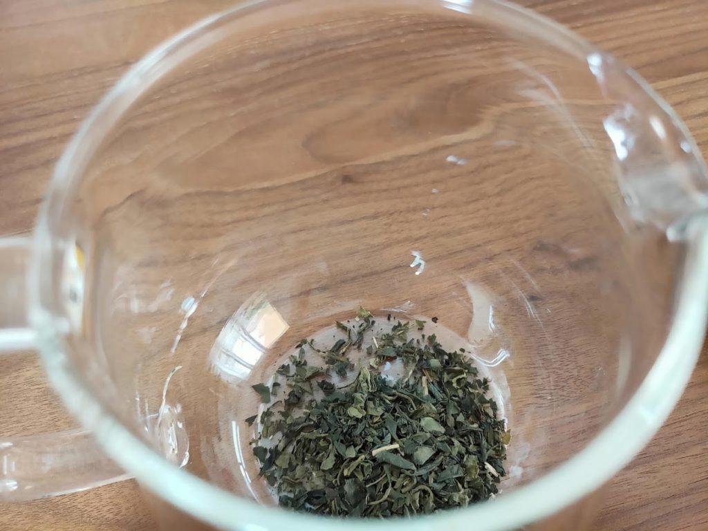 台湾リプトンの緑茶の茶葉